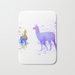 Llamas Bath Mat