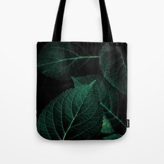 Dark Leaves I Tote Bag