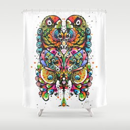 Into Beyond : Large Shower Curtain