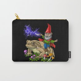 Gnome Riding Psychedelic Toad Carry-All Pouch