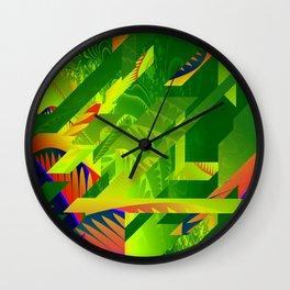 Great Green Frac 1 Wall Clock
