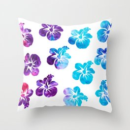 Hi Hibiscus! Throw Pillow