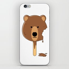 Bear Ice Cream iPhone Skin