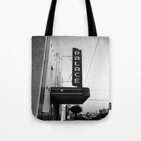 theater Tote Bags featuring Palace Theater by Teran Jones
