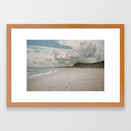 Blackwater Beach Framed Art Print
