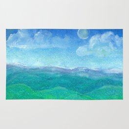 Blue Ridge Evening Rug