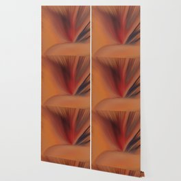 Vase and Spray Wallpaper
