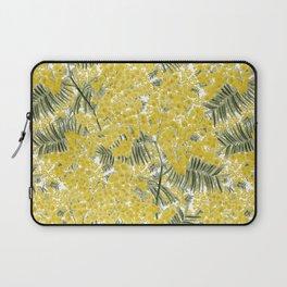 Yellow Mimosa Laptop Sleeve