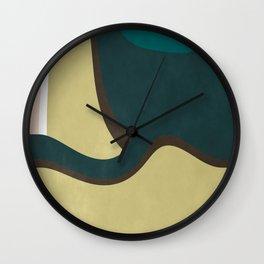 Abstract 2019 009 Wall Clock