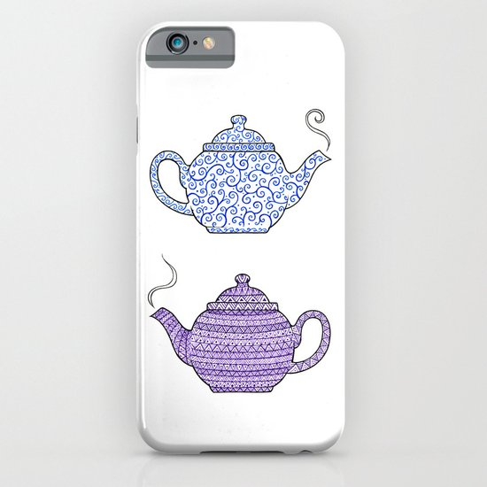 Patterned Teapots iPhone & iPod Case
