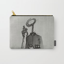 Trust With No Head And Half Finger! Carry-All Pouch