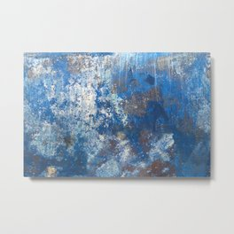 Map of the Universe as Seen on the Bottom of a Boat Metal Print
