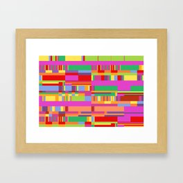 Debussy Little Shepherd (Jelly Bean Colours) Framed Art Print