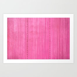 On a Streak Art Print
