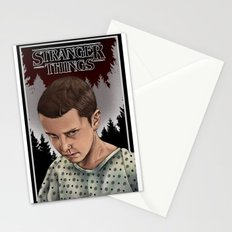 Eleven Stranger Things Stationery Cards