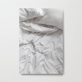 in the sheets Metal Print