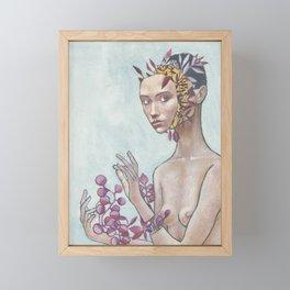 Self-care Framed Mini Art Print