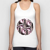 grafitti Tank Tops featuring Sky High by Maria Parsons