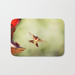The Hummingbird Bath Mat