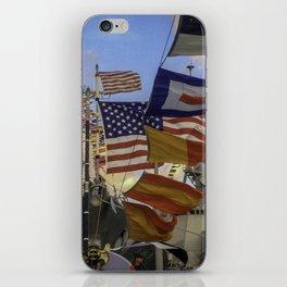 Full Flagged Ship iPhone Skin