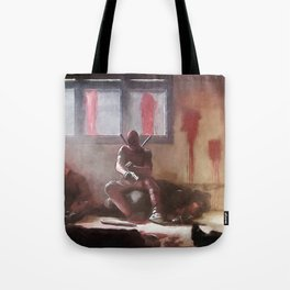 The Merc With A Mouth Stops To Reload - Dead Tote Bag
