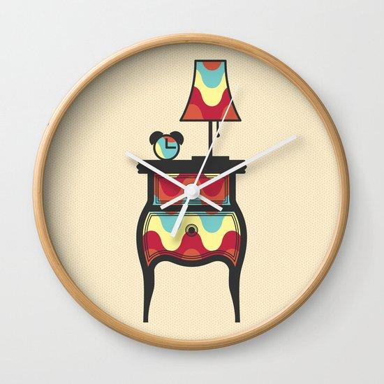 bedtime story Wall Clock
