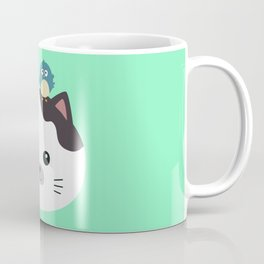 Bird and Cat best Friends T-Shirt Db0uc Coffee Mug