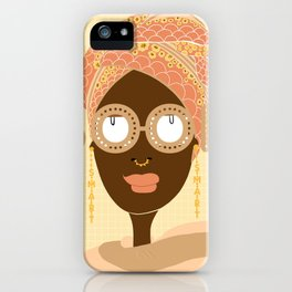 Head wrapped and Book Smart iPhone Case