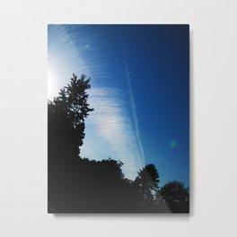 Cloud Waves Metal Print