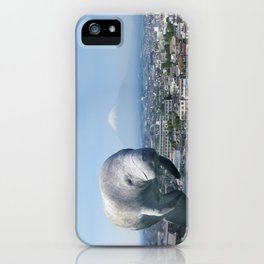 Oh, the HUGE MANATEE! iPhone Case
