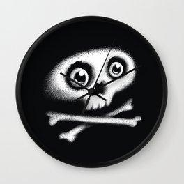 Skull & bones Wall Clock