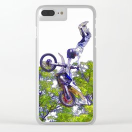 Hand Stand Pro - Freestyle Motocross Stunt Clear iPhone Case