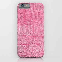 Red Ink I iPhone Case