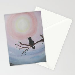 Watching a Hopeful Sunset Stationery Cards