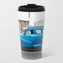 Vintage Blue Cars Travel Mug