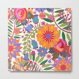 Just Flowers Lite Metal Print