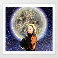 hocus pocus Art Prints featuring Hocus Pocus by grapeloverarts