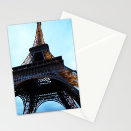 Eiffel Tower at Dusk Stationery Cards