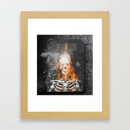 The Recruit. Framed Art Print