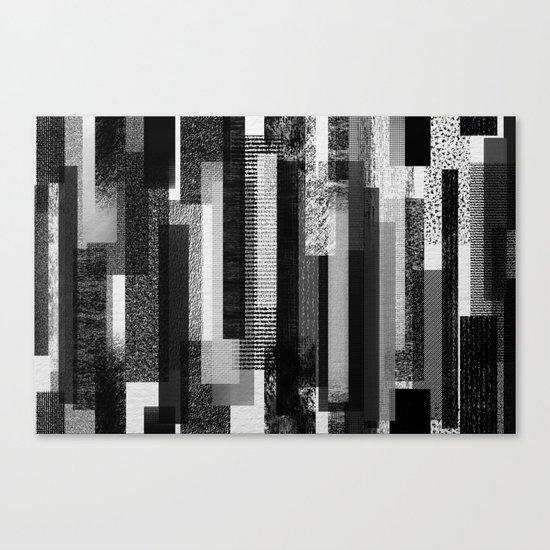 Texture City Canvas Print