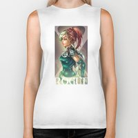 rogue Biker Tanks featuring ROGUE by Tim Shumate