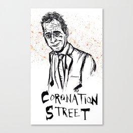 Coronation Street Canvas Print
