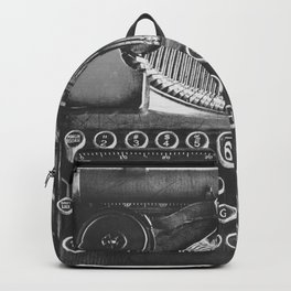 Vintage Typewriter - Before Email Backpack