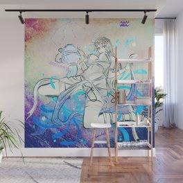 Aquarius / Deep Squid Water Wall Mural