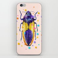 insect iPhone & iPod Skins featuring INSECT IX by dogooder