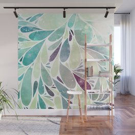 Chill Leaves Wall Mural