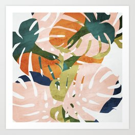 Monstera delight Kunstdrucke