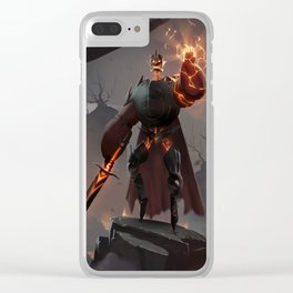 Lightning Knight Clear iPhone Case