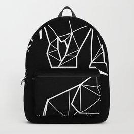 Polygonal Elephant Gift Ideas Backpack