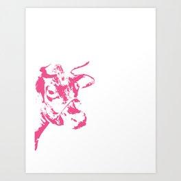 Follow the Pink Herd #700 Art Print